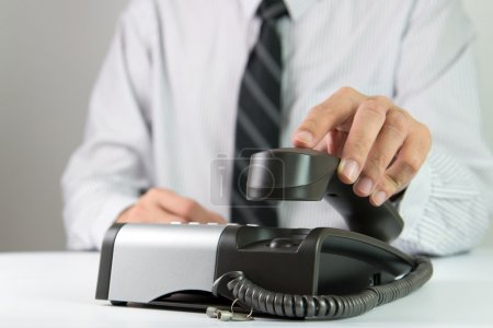 Picking up call