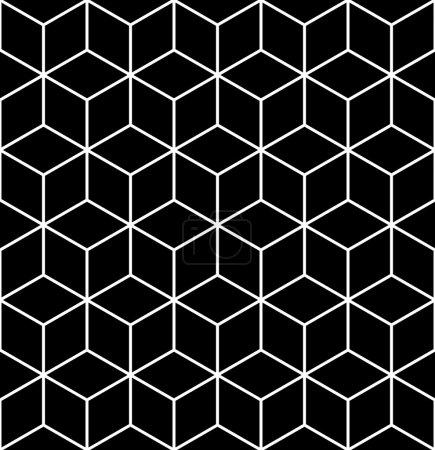 nahtlose geometrische Op Art Textur.