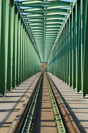 Railroad Bridge Point of View