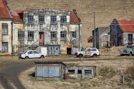 Maison abandonnée en Islande