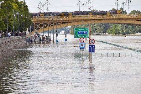 Flooded Budapest