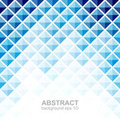 Abstrakt modrý Čtvercový vzorek pozadí