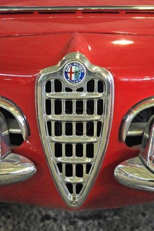 Старинные логотипы автомобилей Альфа Ромео
