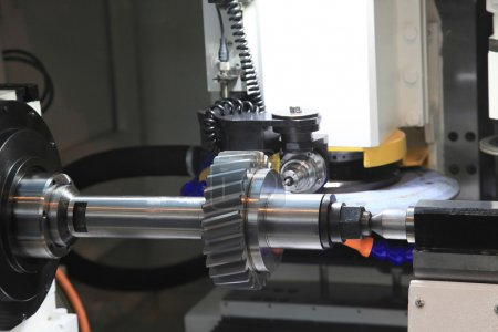 control of manufacturing gears