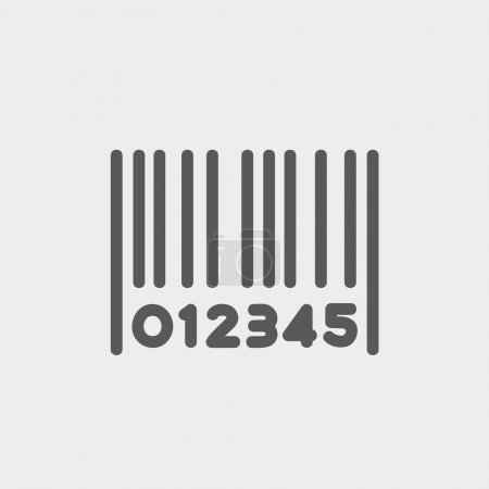Barcode thin line icon