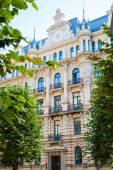 Art Nouveau architecture - building fasade of Riga city.