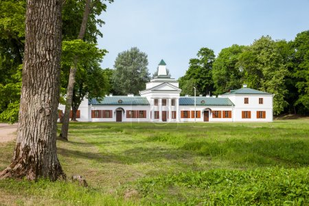 Belorussian tourist attraction -  Oginski  palace