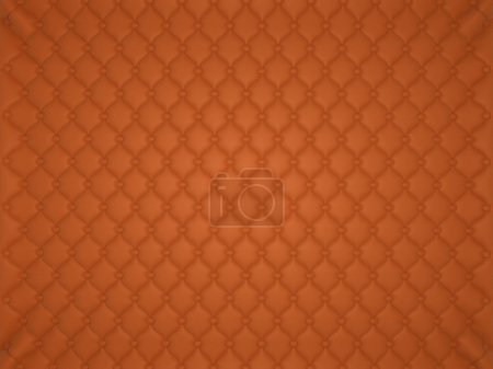 Orange leather pattern with buttons