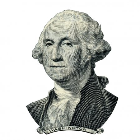 President Washington George portrait (Clipping path)