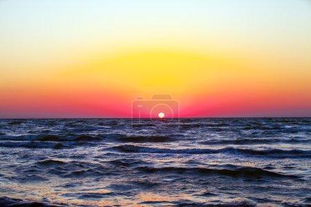 Blue sky,sun and sea