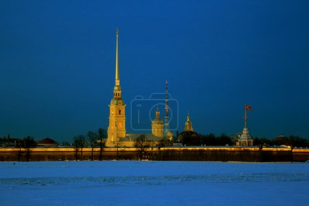 Classic view of St. Petersburg