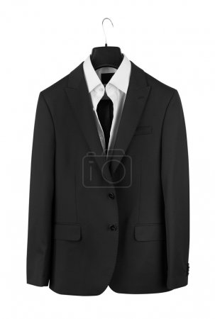 Photo for Man's suit isolated on a white background - Royalty Free Image