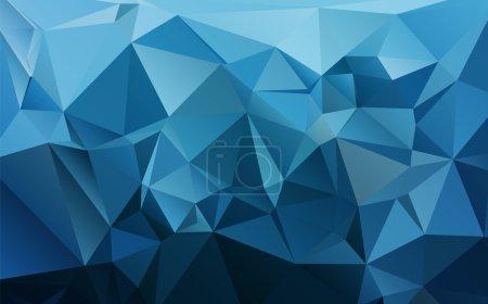Illustration pour Résumé géométrique vecteur polygone arrière-plan - image libre de droit