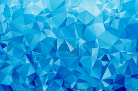 Illustration for Abstract geometric vector polygon background - Royalty Free Image