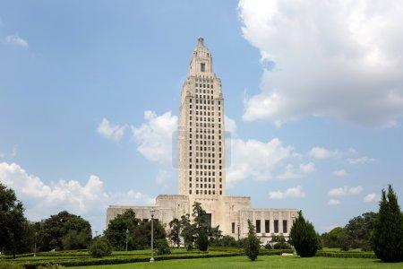 Photo pour Louisiane State Capitol building qui est situé à Baton Rouge, LA, USA . - image libre de droit