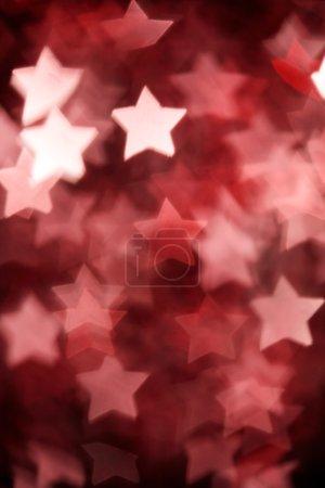 Photo pour Étoiles de Noël abstraites sur fond - image libre de droit