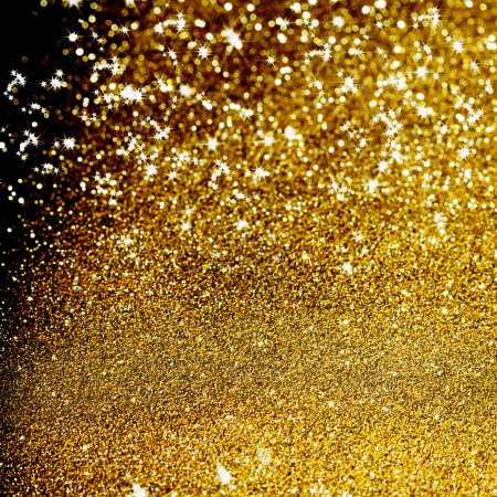 Foto de Resumen de luces de Navidad fondo - Imagen libre de derechos