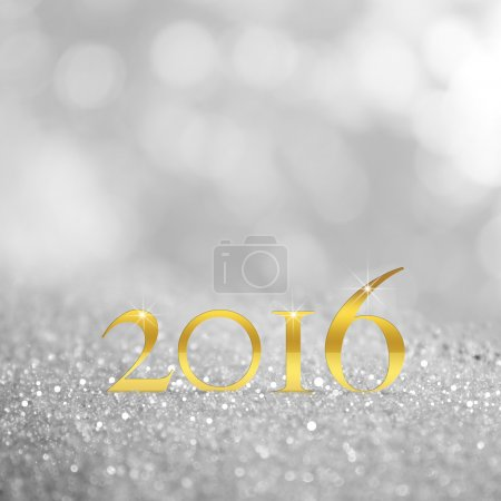 Photo for Golden 2016 and bokeh - Royalty Free Image