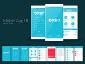 Material Design UI UX Screens for calling mobile apps