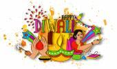 Colourful Elements for Diwali Celebration