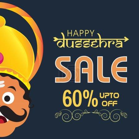 Happy Dussehra Sale Poster, Banner or Flyer.