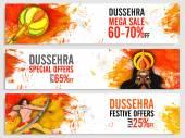 Dussehra Sale website header or banner set.