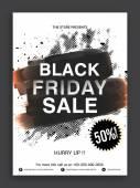 Black Friday Sale Flyer or Sale Banner