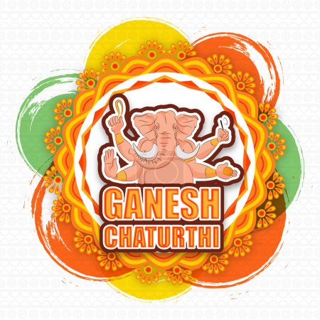 Lord Ganesha for Ganesh Chaturthi.