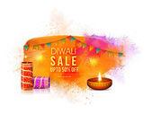 Diwali Sale Poster Banner or Flyer design