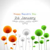 Indian Repulic Day celebration poster design