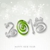 Šťastný nový rok 2015 oslava koncept