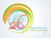 Indian Republic Day celebration with Ashoka Wheel