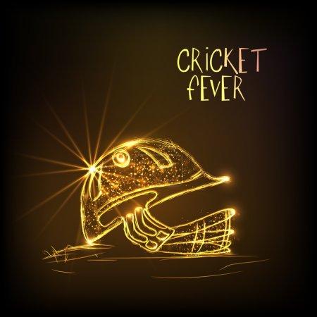 Golden helmet for Cricket Fever.
