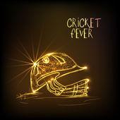 Golden helmet for Cricket Fever