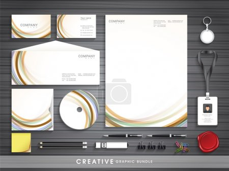 Corporate identity set for your business.