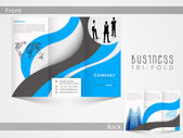 Tri Fold flyer template or brochure for business