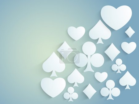 Ace cards symbols for Casino.