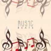 Stylish musical background