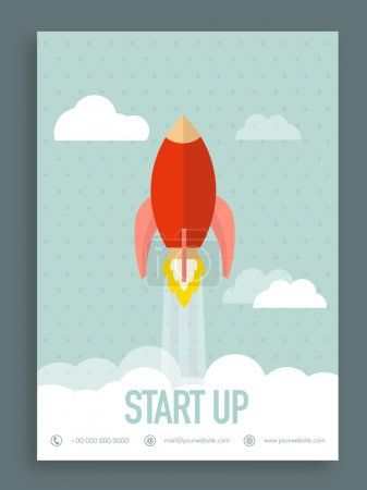 Start up flyer, brochure or template.