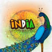 Peacock for Indian Independence Day