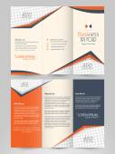 Stylish Business Trifold or Template