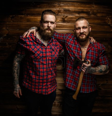 Two brutal hipsters