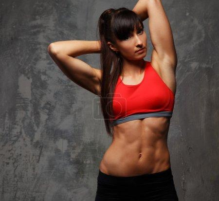 Fitness woman in sportswear