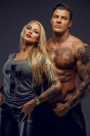Awesome fitness couple.