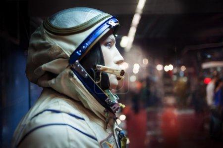 cosmonaut dummy in the suit,  Museum of cosmonautics