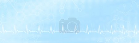 Photo for Abstract medical background for medical banners or website headers - Royalty Free Image