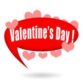Valentinky den bublinu a láska srdce