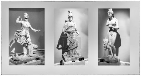 Aphrodite ,Artemis , Athena