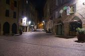 Empty streets in the old town
