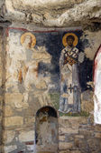 "Постер, картина, фотообои ""византийские фрески святых"""